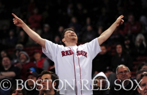 -Boston, MA, May 6, 2014- A fan reacts during a game against the Cincinnati Reds at Fenway Park on May 6th, 2014 at Fenway Park in Boston, Massachusetts. (Photo by Amanda Sabga/Boston Red Sox)