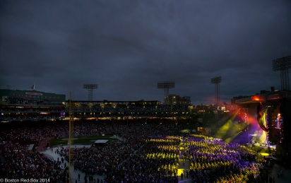 -Boston, MA, June 26 2014- Billy Joel performs on June 26th, 2014 at Fenway Park in Boston, Massachusetts. (Photo by Amanda Sabga/Boston Red Sox)