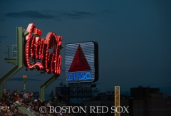 -Boston, MA, August 15, 2014- The sky during a game against the Houston Astros at Fenway Park on August 15th, 2014 (Photo by Amanda Sabga/Boston Red Sox)