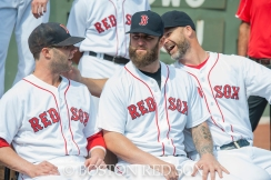 -Boston, MA, August 21, 2014- Red Sox players pose for a team photo at Fenway Park on August 21st, 2014 (Photo by Amanda Sabga/Boston Red Sox)