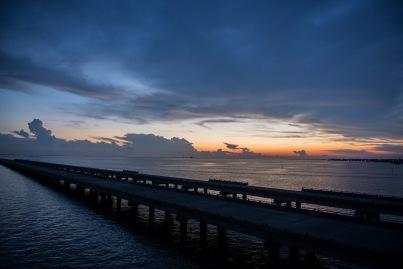 Road Trip Sunset- Louisiana