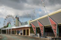 Abandoned Six Flags- New Orleans, Louisiana